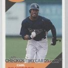 2009 Topps Heritage High Number Flashbacks #FB05 Carl Crawford