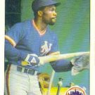 1984 Fleer #603 Mookie Wilson