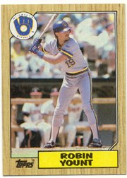 1987 Topps 773 Robin Yount