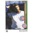 1989 Upper Deck #303 Rick Sutcliffe