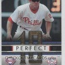 2007 Fleer Perfect 10 #CU Chase Utley