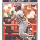 1990 K-Mart #22 Kirby Puckett