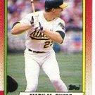 1990 Topps #690 Mark McGwire