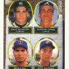 1993 Topps #529 Dave Silvestri/Chipper Jones/Benji Gil/Jeff Patzke