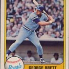 1981 Fleer #655 George Brett