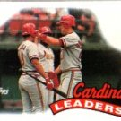 1989 Topps #261 St.Louis Cardinals TL