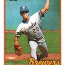 1989 Topps #287 Juan Nieves