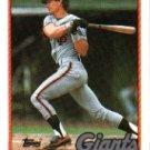 1989 Topps #94 Chris Speier