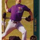 1999 Just #222 Brad Penny