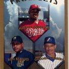 1999 Topps #427 M.Anderson/Belliard/Cabrera