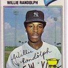 1977 Topps #359 Willie Randolph