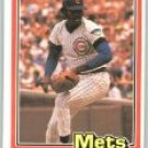1981 Donruss #524B Ray Burris