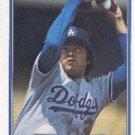 1982 Fleer #636A Fernando Valenzuela