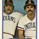 1982 Fleer #639 Perfect Game UER/Len Barker and/Bo Diaz