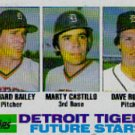 1982 Topps #261 Tigers Rookies