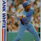 1982 Topps #646 Frank White SA