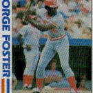 1982 Topps #701 George Foster SA