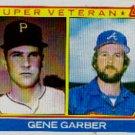 1983 Topps #256 Gene Garber