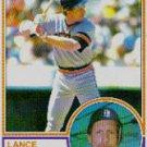 1983 Topps #285 Lance Parrish