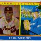 1983 Topps #411 Phil Niekro