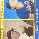 1983 Topps #741 Rusty Staub