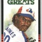 1985 Leaf/Donruss #252 Tim Raines