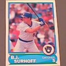 1988 Score Young Superstars I #8 B.J. Surhoff