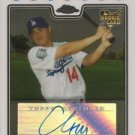 2008 Topps Chrome #228 Chin-Lung Hu AU