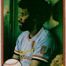 1981 Fleer #548 Bobby Bonds