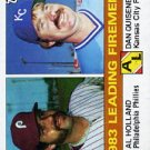 1984 Topps #138 Al Holland/Dan Quisenberry LL