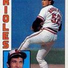 1984 Topps #191 Mike Boddicker