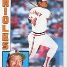 1984 Topps #272 Rick Dempsey