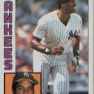 1984 Topps #460 Dave Winfield