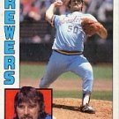 1984 Topps #505 Pete Vuckovich