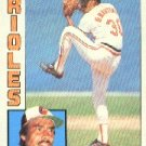 1984 Topps #631 Dennis Martinez