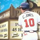 2000 Crown Royale Feature Attractions #2 Chipper Jones