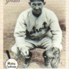 2002 Greats of the Game #47 Mickey Cochrane