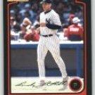 2003 Bowman Chrome #43 Andy Pettitte