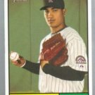 2010 Topps Heritage #292 Jhoulys Chacin