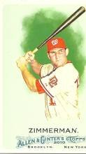 2010 Topps Allen and Ginter 137 Ryan Zimmerman