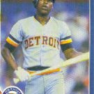 1986 Fleer #242 Lou Whitaker