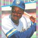 1989 Fleer #187 Darryl Hamilton