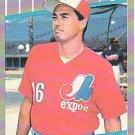 1989 Fleer #375 Tom Foley ( Baseball Cards )