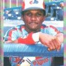 1989 Fleer #387 Otis Nixon