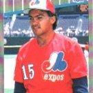 1989 Fleer #388 Johnny Paredes