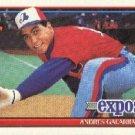 1991 Topps #610 Andres Galarraga ( Baseball Cards )