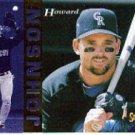 1994 Select #315 Howard Johnson ( Baseball Cards )