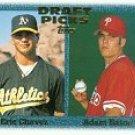 1997 Topps #479 E.Chavez/A.Eaton RC