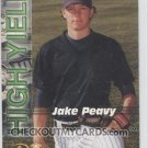 2001 Royal Rookies Futures High Yield #HY5 Jake Peavy