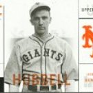 2001 Upper Deck Legends of NY #34 Carl Hubbell